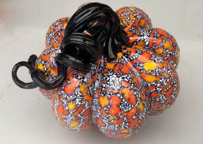 Speckled pumpkin