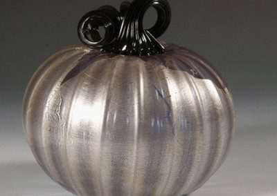 Picture perfect glass pumpkin