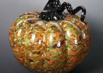 Glass Blown Pumpkin