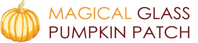 Magical Glass Pumpkin Patch